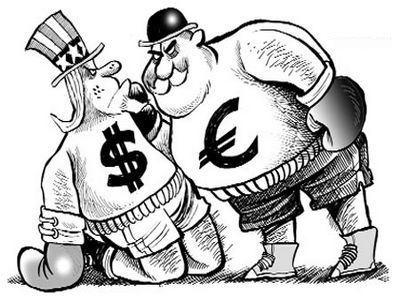 Почему не получается ослабить курс евро?