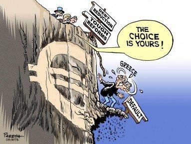 Греция готовится к дефолту
