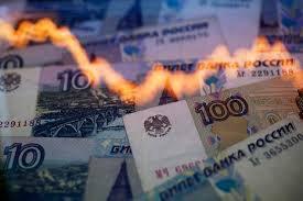 Российский рубль достиг минимума с 30-го января