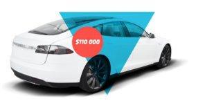 Результаты акции Суперкар Tesla от RoboForex