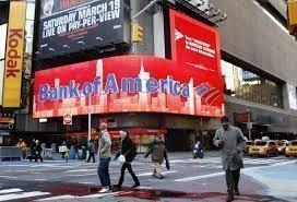 Прибыль Bank of America упала из-за снижения торговых результатов