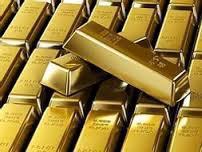 Золото падает, с ростом доллара и рискованных активов