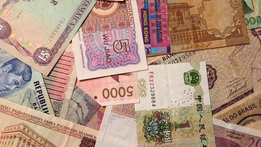 Валютные рынки сокращаются, так как «золотой век» роста переместился на Восток
