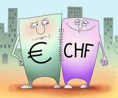 Евро достиг 2-месячного минимума против франка, из-за Deutsche Bank