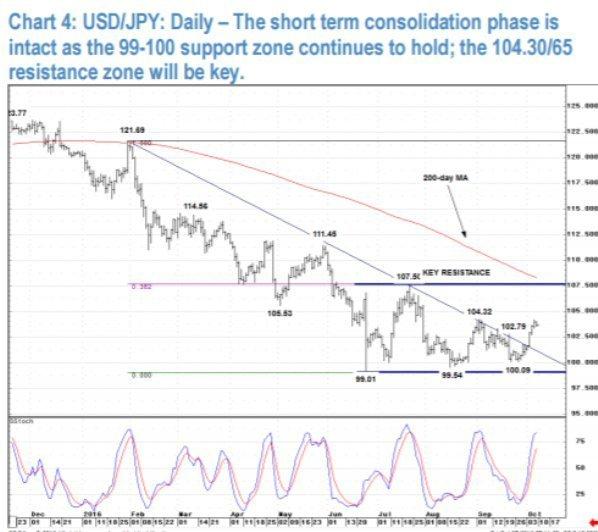 USD/JPY: Область ключевого сопротивления - JP Morgan