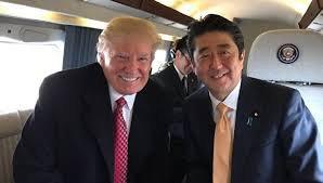 Встреча Дональда Трампа и Синдзо Абэ завершилась 100% дружбой...