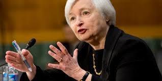 Рынок в ожидании выступления главы ФРС Джанет Йеллен