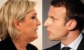Во второй круг выборов во Франции вышли Макрон и Ле Пен