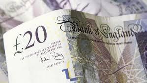 Фунт растет второй день подряд, несмотря на снижение прогнозов МВФ