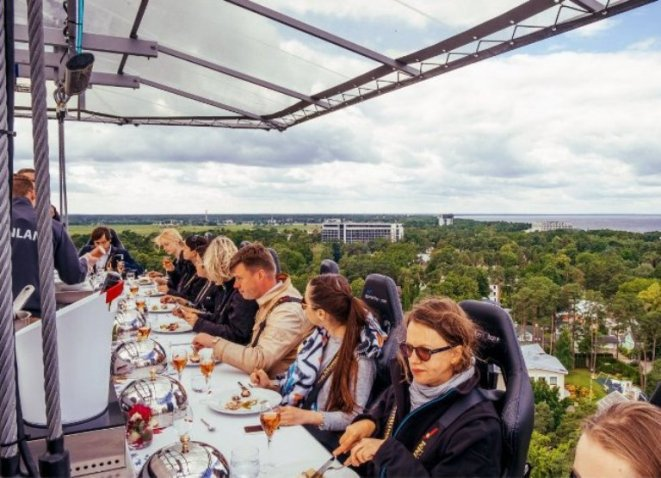 14 экстремальных ресторанов, которые следует посетить