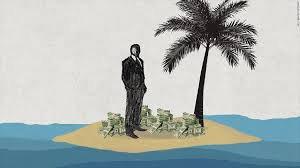 Богачи каких стран держат капиталы за рубежом