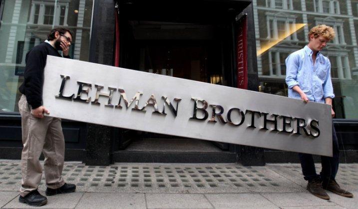 11 памяток о крахе Lehman Brothers, которые можно купить на eBay