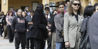 В США зарегистрирован первый спад занятости с 2010 года