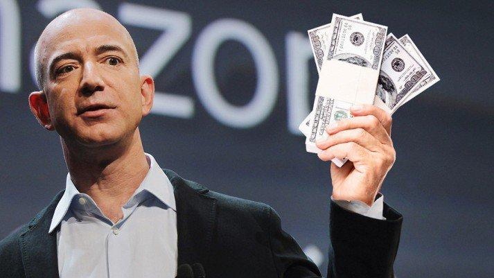 Безос, Пэйдж и Брин стали на $8.6 млрд богаче, после выхода квартальных отчетов