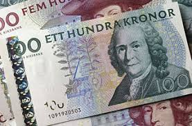 Шведская крона просела ниже 10 против евро