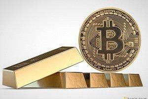 Обвал криптовалют подтолкнул сторонников биткоина к золоту