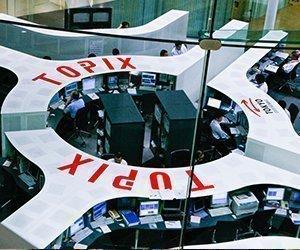 Nikkei упал на более 1,500 пунктов, максимум с 1990-го