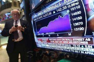Dow и S&P 500 в 2018-м колебались больше чем в 2017-м
