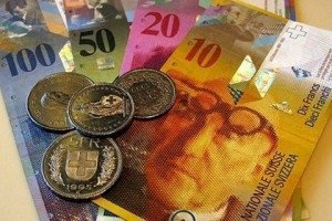 Обменный курс франка достиг минимума