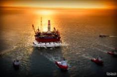 Нефть терпит потери в районе $55