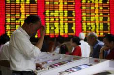 Ведущие китайские акции потерпели самый большой квартальный спад за 2 года