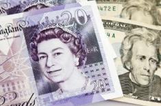 Стерлинг и евро выросли, тогда как доллар просел